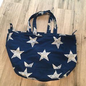 Cute Blue tote/overnight bag